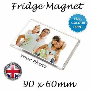 Personalised Fridge Magnet | Custom Photo Gift,  SIZE 9CM * 6CM | UK SELLER
