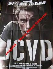 JCVD - The Movie - Van Damme - AFFICHE 120x160/47x63 FRENCH POSTER