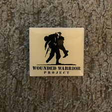 """Vintage """"Wounded Warrior Project"""" Military Lapel Pin MILITARY VETERAN"""