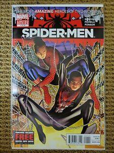 SPIDER-MEN 1 FIRST PRINT 1ST PETER PARKER & MILES MORALES NM MARVEL COMICS 2012