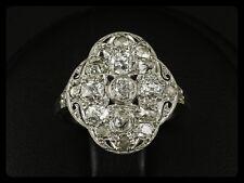 Antiker Diamant Ring ca. 1,00ct um 1910 Platin & Weißgold