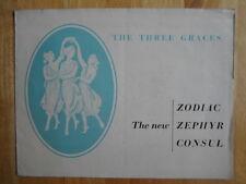 FORD Consul Zephyr & Zodiac 1956 orig UK Market brochure