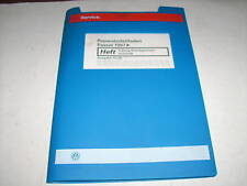 Workshop Manual VW Passat B5 5 Gang Switch Transmission 012/01W Stand 01/2000