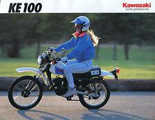 OEM KAWASAKI 1992 KE100-B11 Sales Brochure