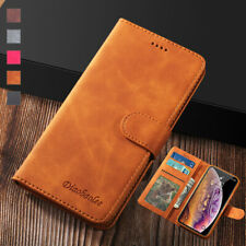 For iPhone XS Max XR 6S 7 8 Plus Leather Wallet Case Card Holder Slim Flip Cover