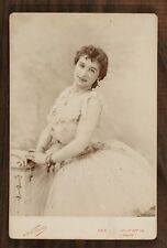 Mlle Bodino, Danseuse Ballet Opéra, Photo Cabinet card, Nadar