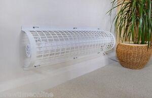 Hylite Slimline Eco 300mm 28w Tubular Heater & Guard Pack