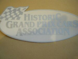 HISTORIC GRAND PRIX CARS ASSOCIATION STICKER LOTUS 24 25 48 72 79 WILLIAMS FW05