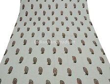 Jaipuri Razai Pure Cotton Filled Kantha Handmade Queen Size warm Quilt