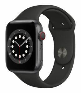 Apple Watch Series 6 44mm Space Grey Aluminum Case , GPS & Cellular
