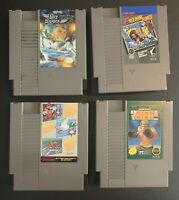 NES GAME LOT(4) SkyShark, Freedom Force, Ring King, Super Mario Bros combo