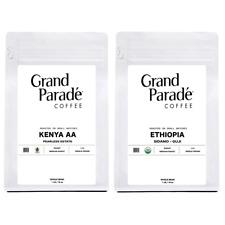 New listing Organic Ethiopian & Kenya Aa Fresh Medium Roasted Coffee Beans, 1 lb Each