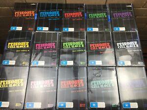 Prisoner Cell Block H - DVD's - Series   Season 1 - 15 - Box Set - Like New -