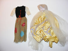 Vintage 1960s Barbie Cinderella Set Rich & Poor Outfit Clothing 1964-65
