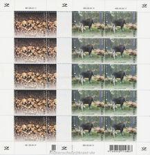 EUROPA CEPT 2011 WALD FOREST - ESTLAND ESTONIA 694-95 KLEINBOGEN ** - ELCH