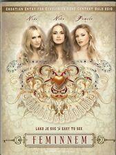 Feminnem NEW SEALED maxi cd single 6 track + video Eurovision Croatia 2010