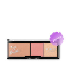 Kiko MILANO Face Palette Bronzing Powder Blush and Highlighter 01