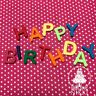 BRIGHT LETTERS NUMBERS 2.3cm edible icing fondant cupcake cake decoration topper