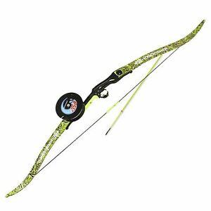 """PSE Kingfisher Recurve Bowfishing Bow Package 56"""" w/ Arrow Reel RH - Open Box"""