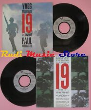 LP 45 7'' YVES MOUROUSI PAUL HARDCASTLE 19 Dix neuf Fly by night 1985 cd mc dvd