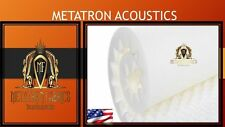 "Metatron Acoustics Foam White Egg Crate 2.5 x 72"" X 80 Covers 40sq Ft"