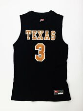 Nike Texas Longhorns Classic Basketball Jersey #3 286865 Men's Large Black