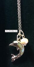 Dolphin & Fresh Water Pearl Necklace