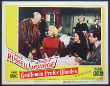 GENTLEMEN PREFER BLONDES MARILYN MONROE JANE RUSSELL 1953 LOBBY CARD #7