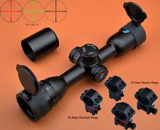 Free Ship Eagle 6x32 AO R/G Compact Turrets W/Lock/Reset Mil Dot Rifle Scope