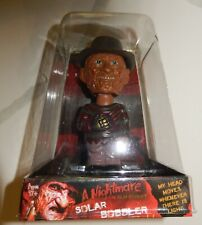 Freddy Krueger Nightmare on Elm Street Solar Horror Bobble New