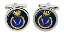 HMS Gurkha, Royal Navy Cufflinks in Box