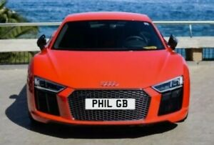 Cherished number plate   PHIL