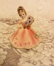 Vintage Josef Originals September Birthday Girl Figurine in Guc !