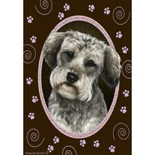 Paws House Flag - Schnoodle 17474