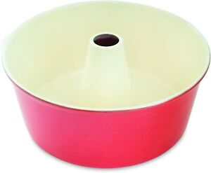 Nordic Ware 12-Cup Angel Food Cake Pan-Red (50922RD)