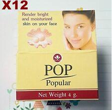 12X4g POP POPULAR PEARL CREAM Skin Whitening Freckle Dark Spot Facial Acne Scars
