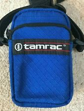 TAMRAC 218 PHOTO / CAMERA BAG FOR COMPACT CAMERAS *BLUE*MADE IN USA*