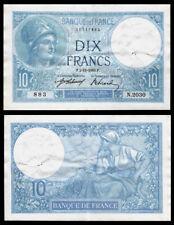 Billet France - 10F Minerve - 02.11.16 - SUP - Fay : 6.1