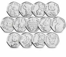 50p Beatrix Potter Coins Cheap Multi-Buy Postage