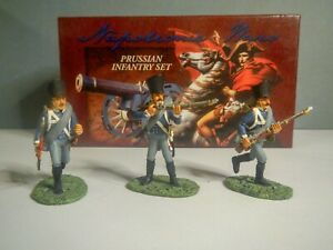 Britains Napoleonic Wars Prussian Infantry 54mm painted metal in Box
