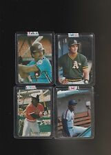 Broder Cards Pre 1990 Lot of 4 Murray Gooden Canseco Schmidt