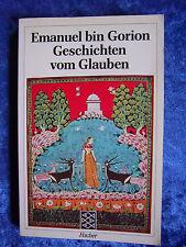 """""""Geschichten vom Glauben"""" vom Emanuel bin Gorion"""