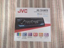 New listing Jvc Kd-T910Bts Single Din Receiver - No Harness