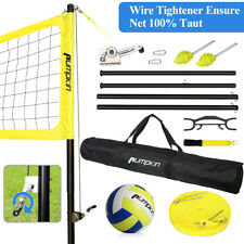 Portable Volleyball Net Set System with Carry Bag For Outdoor Beach Team Sports