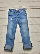 Hudson Girls Size 8 Jeans Cropped Cuffed