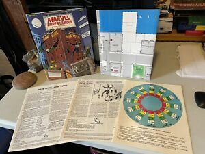 1985 TSR MARVEL SUPER HEROES Role Playing Game RPG MHAC6 NEW YORK 6863 D&D