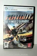 FLATOUT ULTIMATE CARNAGE GIOCO USATO PC DVD EDIZIONE ITALIANA MASTER GD1 36922