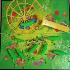 Board Game Parts: Grabbin' Grasshoppers, Tyco, 1990, replacement pieces