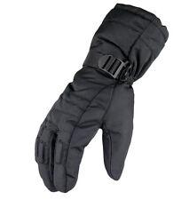 Black Men Fashion Winter Warm Gloves Waterproof Snowmobile Snowboard Ski Gloves