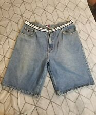 Vintage Tommy Hilfiger Denim Carpenter Jean Shorts Size 40